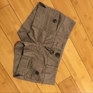 Brown dressy shorts